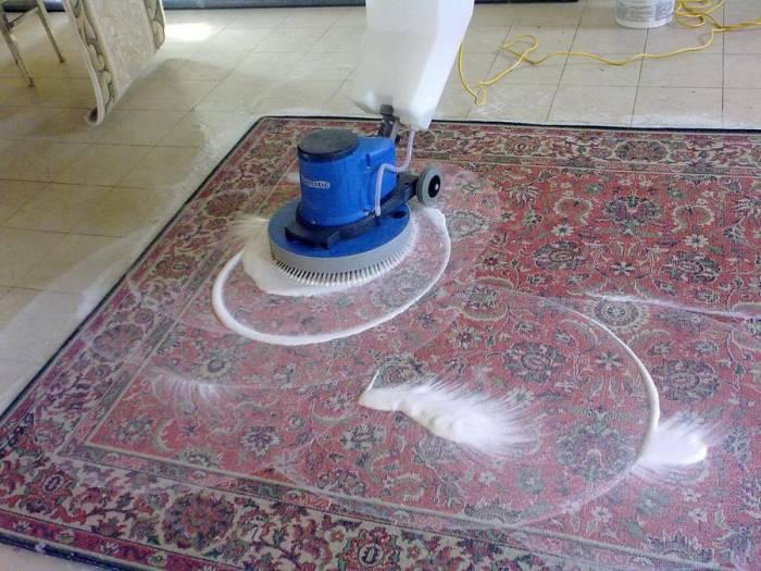Чистка ковров цена